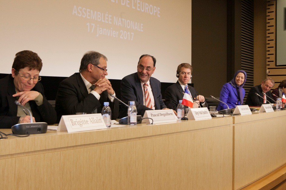 Paris, French National Assembly conference on Middle East Developments