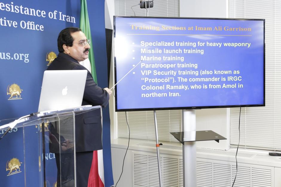 Washington DC, U.S.A, NCRI Press coference reaveal IRGCTerrorist Training Camps