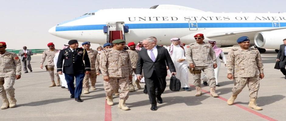 Mattis Visits Saudi Arabia, Promises to End Iranian Houthi Rockets
