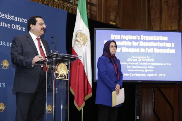 Iran Secretly Conducting Nuclear Weapons Research Claims Opposition