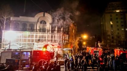 Saudi Arabia embassy attack