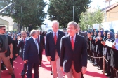 Senators Roy Blunt, John Cornyn, Thom Tillis and Maryam Rajavi, Tirana, Albania 12/08/2017 - Senior U.S. Senate Delegation, Maryam Rajavi meet in Tirana, the Albanian Capital on Saturday, August 12, 2017. Senators The meeting took place at one of the centers of the MEK in Albania and was initiated by Senator Roy Blunt.