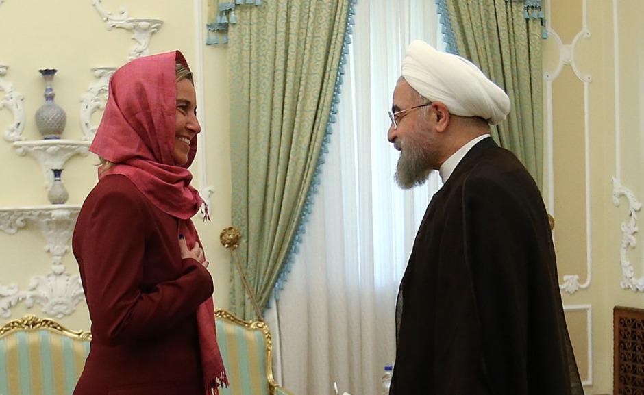 Mogherini & Rouhani